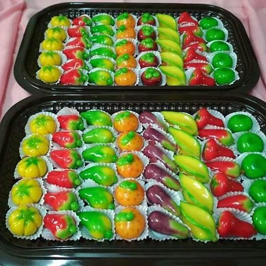 Kue Mini Cantik Untuk Hantaran Ibu Wida